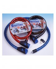 Oxford Barrier Armoured Cable Lock Blue