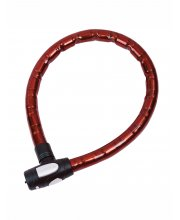 Oxford Barrier Armoured Cable Lock Red