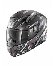 Shark D-Skwal Kanhji Black/White Motorcycle Helmet at JTS Biker Clothing