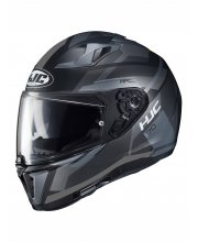 HJC I70 Elim Black Motorcycle Helmet at JTS Biker Clothing