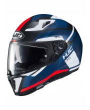 HJC I70 Elim Blue Motorcycle Helmet at JTS Biker Clothing