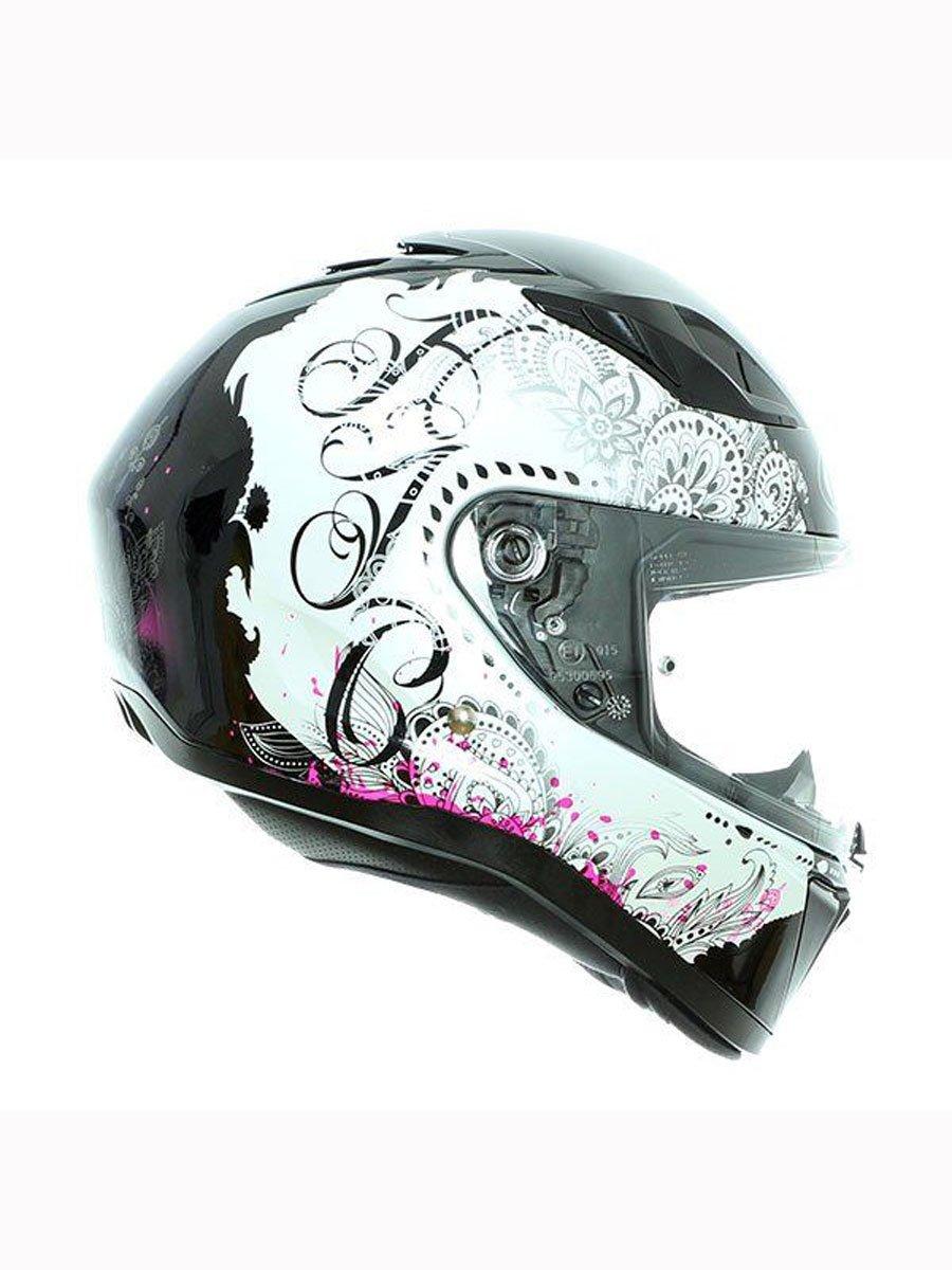 HJC Pink I70 Varok Motorcycle Helmet