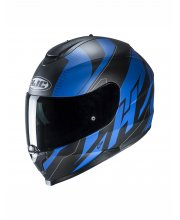 HJC C70 Boltas Blue Motorcycle Helmet at JTS Biker Clothing