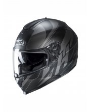 HJC C70 Boltas Matt Black Motorcycle Helmet at JTS Biker Clothing