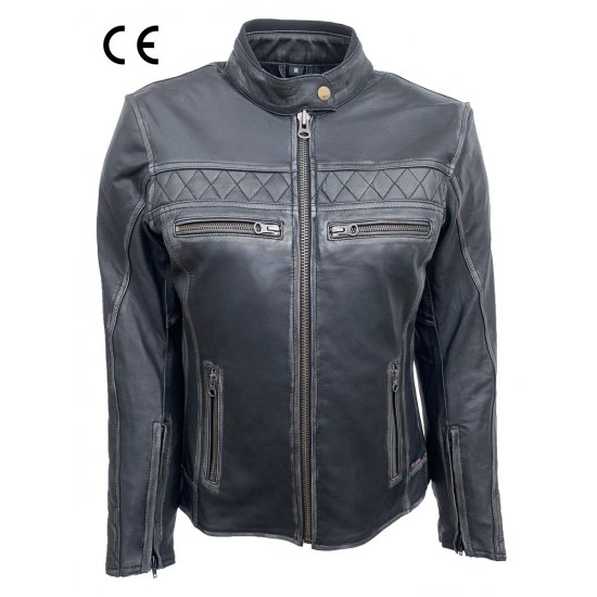 JTS ROXANNE LEATHER JACKET