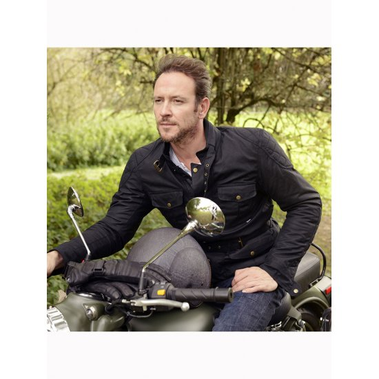 Oxford Bradwell Wax Cotton Textile Motorcycle Jacket