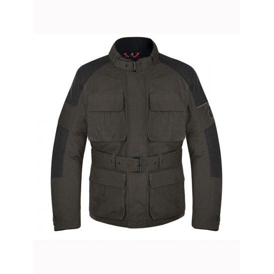 Oxford Heritage 1 0 Wax Cotton Textile Motorcycle Jacket