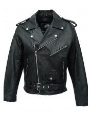 JTS Brando Mens Leather MotorBike Jacket