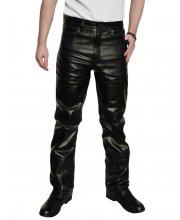 JTS 1616 Mens Leather Motorbike Jean
