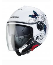Caberg Riviera V4 Muse Open Face Motorcycle Helmet at JTS Biker Clothing