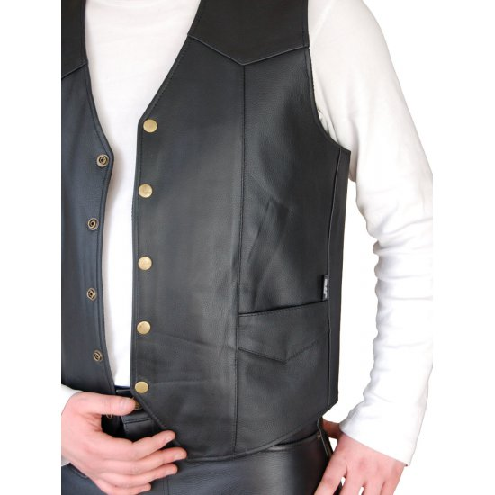 JTS 1100 Leather Cowhide Waistcoat