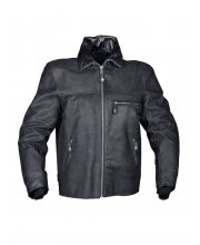Furygan New Texas Leather Motorcycle Jacket Black