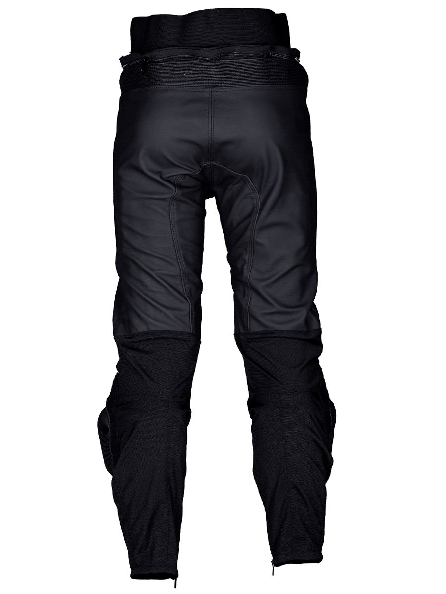 Men's Warrior Leather Bib and Brace by Bikers Paradise