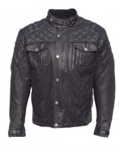 JTS Bullet Wax Cotton Motorcycle Jacket