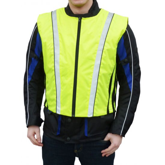 JTS High Visibility Motorcycle Vest