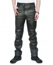 JTS 1717 Leather Motorcycle Jeans