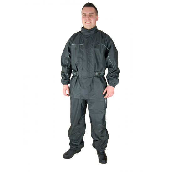 JTS Aqua Waterproof Motorcycle Rain Jacket