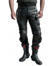 JTS Cobra2 Leather Motorcycle Trouser