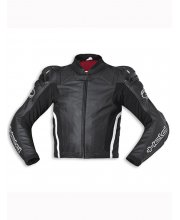 Held Safer Leather Race Motorcycle Jacket Art 5131 Black