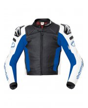 Held Safer Leather Race Motorcycle Jacket Art 5131 Blue