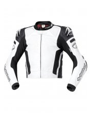 Held Safer Leather Race Motorcycle Jacket Art 5131 White