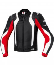 Held Street II Leather Race Motorcycle Jacket Art 5230 Red