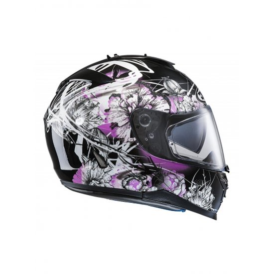 HJC IS-17 Barbwire Motorcycle Helmet