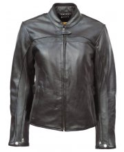 JTS Amelia Ladies Leather Motorcycle Jacket