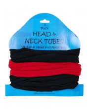 JTS Neck Tubes Neck Warmers Red
