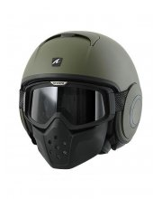 Shark Raw Blank Matt Motorcycle Helmet