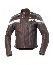 Held Harvey 76 Leather Motorcycle Jacket Art 5424 Red