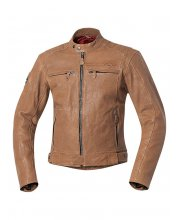 Held Strong Bullet Leather Motorcycle Jacket Art 5426 Brown