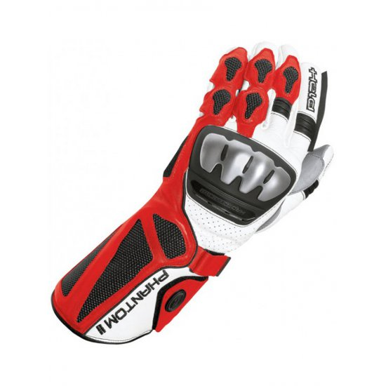 Held Phantom II Sports Motorcycle Glove Art 2312 Red