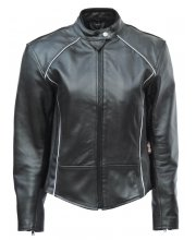 JTS Gina Ladies Leather Motorbike Jacket