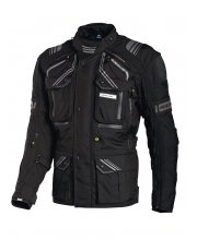 Richa Touareg Motorcycle Jacket Black