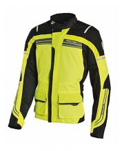 Richa Phantom Motorcycle Jacket Hi Vis