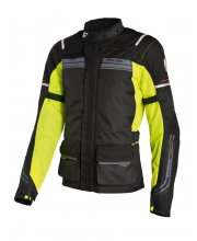 Richa Phantom Motorcycle Jacket Black Yellow