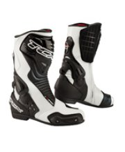 TCX S-Speed Racing Motorcycle Boots White