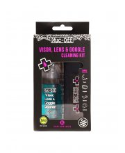 Muc-Off Visor Lens & Goggle Cleaning-Kit